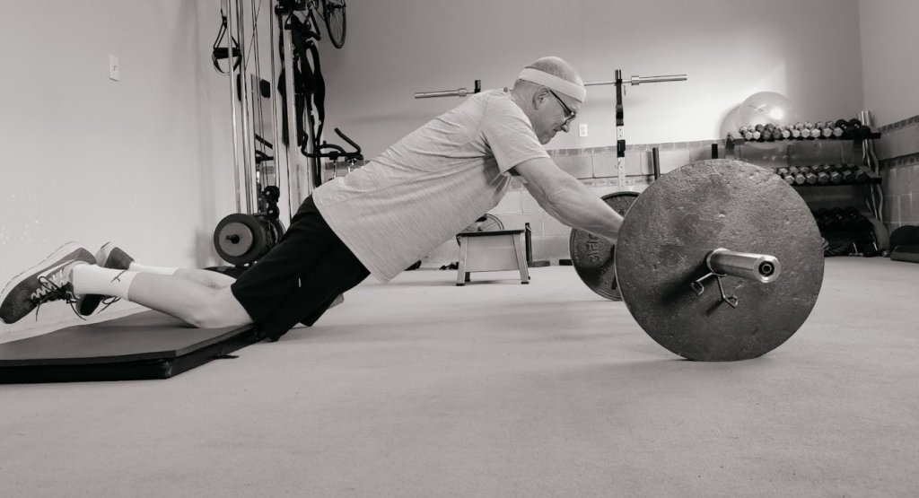 Barbell Rollouts at 40 Plus Personal Training